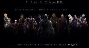 I am a gamer by The--Mad--Russian