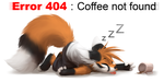 Coffee 404 by thanshuhai