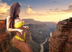 Grand Canyon sight by RedCoffee1
