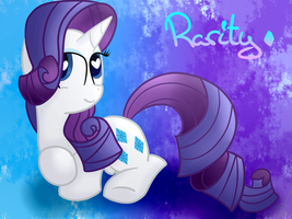 Miss Rarity by GypsyCuddles