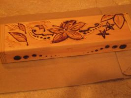 flower design pencilbox2 by sagitary1211