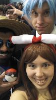 Pokemon Line Selfie in Pax East 2015 by craftysorceress