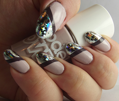 Starry Foil Tips by Ithfifi