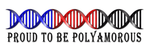 Proud to be Polyamorous DNA by lovemystarfire