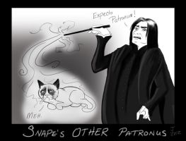 Snape's Other Patronus by DeadStars