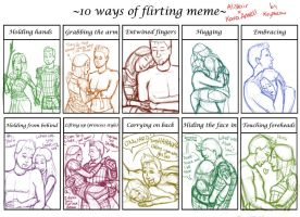 DAO: 10 Ways of Flirting Meme by kryptocow
