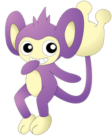 Aipom by NIGHTSandTAILSFAN