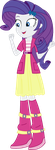 Equestria Girls Rarity (Sweetie Belle's clothes) by JustinKWork