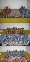 My Transformers Chess Set by Golden-Dragon-Girl