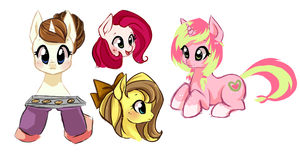 MLP Sketch dump 1 by StarshineBeast
