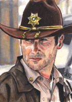 Rick Grimes - The Walking Dead by tdastick