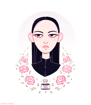 Wednesday Addams - The Addams Family by Naimly