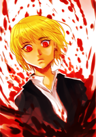 Happy Kurapika by leoflynn