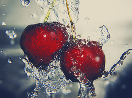cherries 2 by PaperMarionett