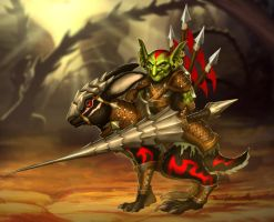 Sir Terrowin Heroes of Newerth by RavenseyeTravisLacey