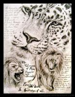 ..Of Leopards and Lions.. by Raelyyn