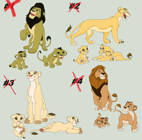 Lion Adoption- Cubs to Adults - CLOSED by AnarsAdoptionAgency