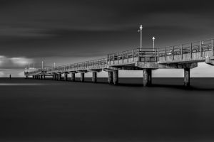 Pier Baltic Sea by hessbeck-fotografix