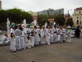 Arrancar Cosplay by MidnightRosebud