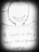 A smile a day, keeps the nightmares away.... by edwardsuoh13