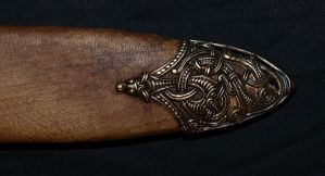Viking sword scabbard 9 by DarkSunTattoo