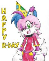 Happy B-day:for AlexisCatMC by AmaterasuOmikami