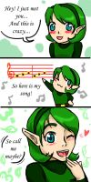 Call Saria maybe? by girloveslink