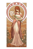 Calla Lilies | Virgo by danielledemartini