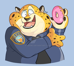 Clawhauser by MrBowz