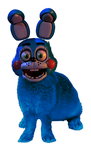 Toy bonnie in real life by Amanska