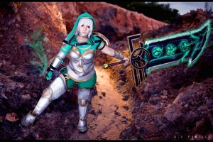 League Of Legends - Redeemed Riven III by NEProject