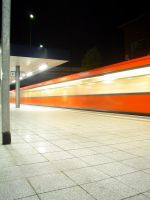Berlin-Westhafen at night 3 by zeman