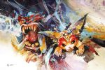 League of legends - Gnar, The Missing Link by Abstractmusiq