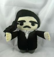 Edgar Allan Poe - Medium size commission by deridolls