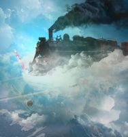 Railway to Heaven by Vk-Queen