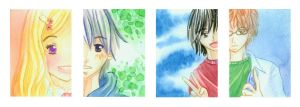 Honey and Clover Portraits by Tsukiyono-Miyu