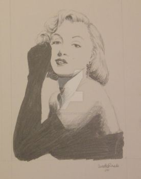 Marilyn Monroe by butterflyannie