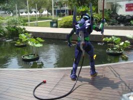 EVA-01 at Central Park Mall 7 by V-male