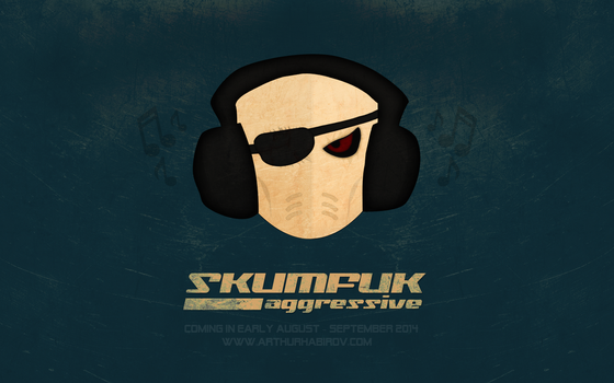 SKUMFUK AGGRESSIVE  WP 16:9 by d1sapp3ar