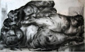 Fulcrum: A Jenny Saville Piece by mayadb