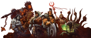 Warlords of Draenor - Background removed by Ammeg88