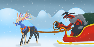 Merry X and Y- Mas by Saronicle