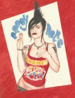 Brody Dalle by AliciaEvan
