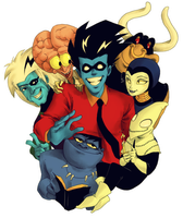 Freakazoid: Long Time No See by student-yuuto