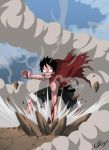 Luffy's rage by Nouin