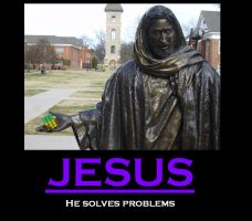 Motivational Posters: Jesus by Exphilius