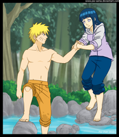 NaruHina - Supporting by Pia-sama