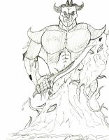 100 Character Challenge - 6 - Armored Abomination by Reyai-Bloodrose