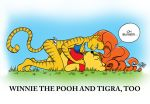 WINNIE THE POOH AND TIGRA TOO by JayFosgitt