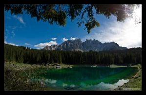 Lago di Carezza II by Emilio-Casini